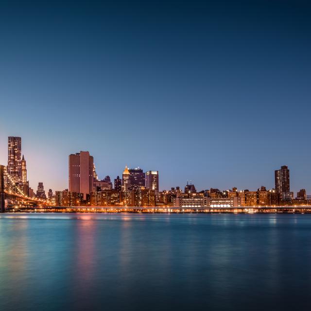 Paseo en barco por Nueva York al atardecer: Harbor Lights Tour