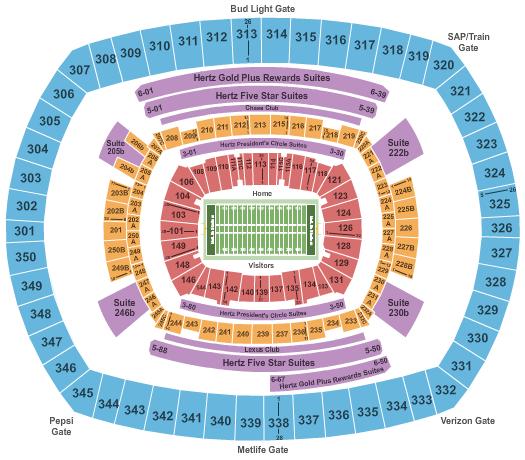 Estadio de los Giants de Nueva York
