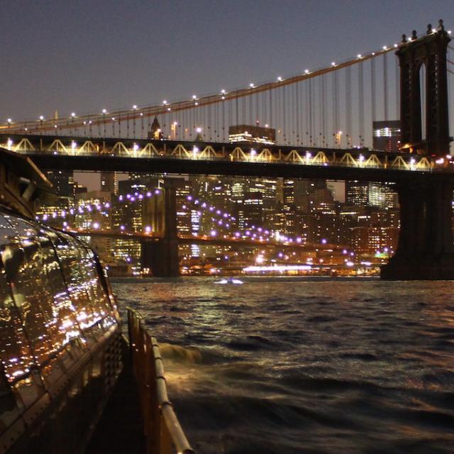 Bateaux New York: crucero con cena en Nueva York