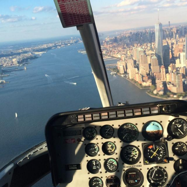 Vuelo en helicóptero por Nueva York: opiniones