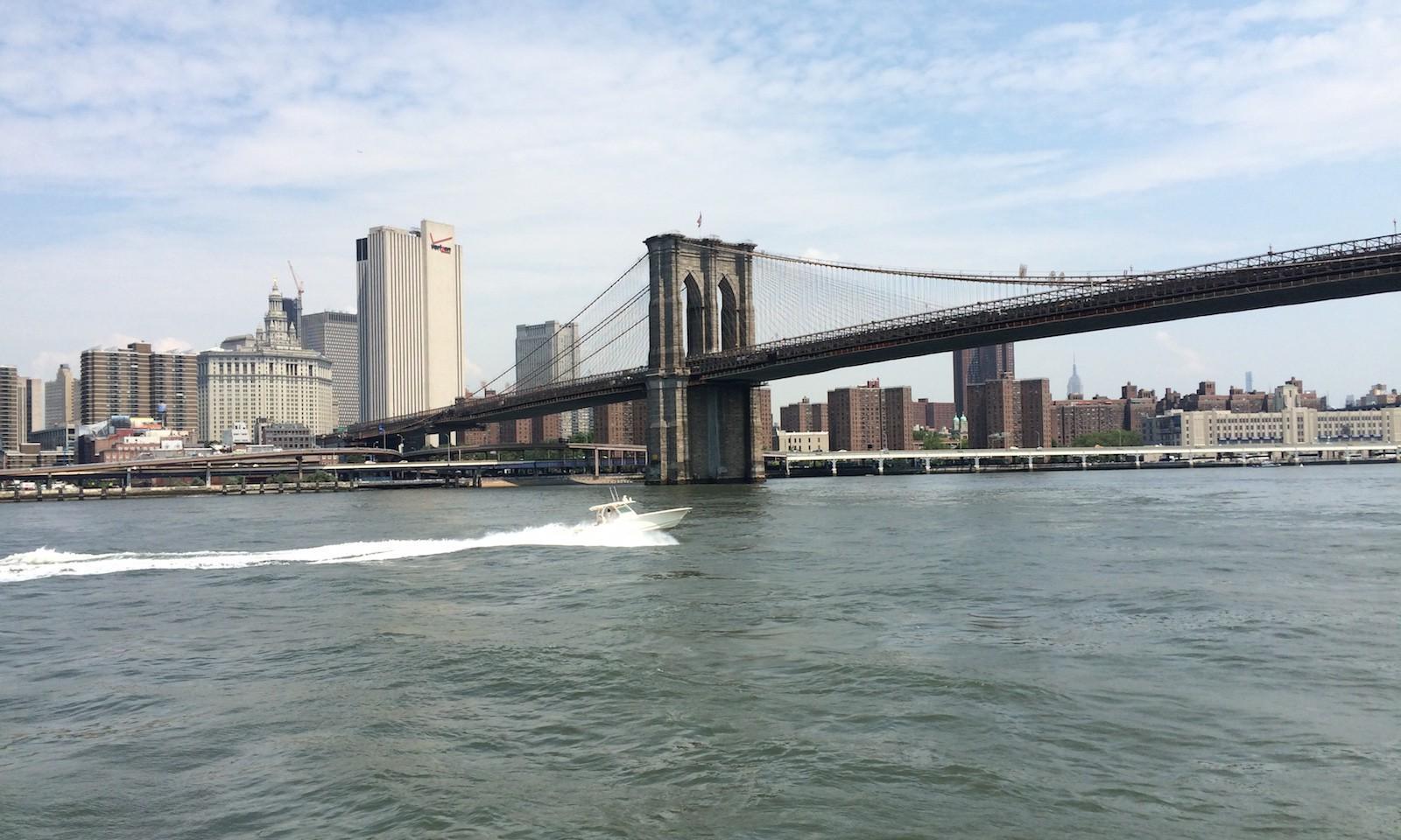 Crucero en barco nueva york