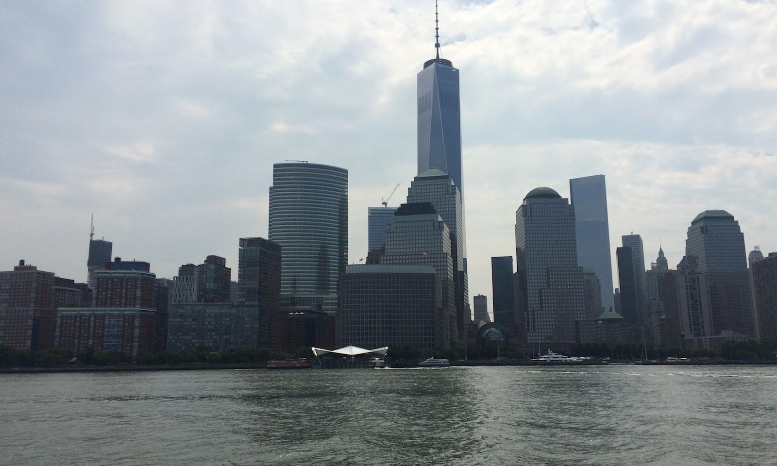 Paseo en barco en nueva york