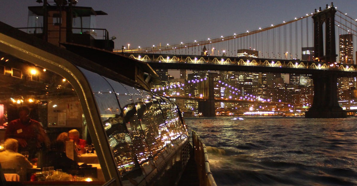Crucero con cena alrededor de Mahattan