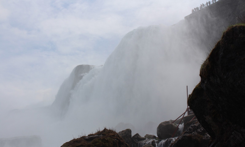 vista desde el cave of winds tour