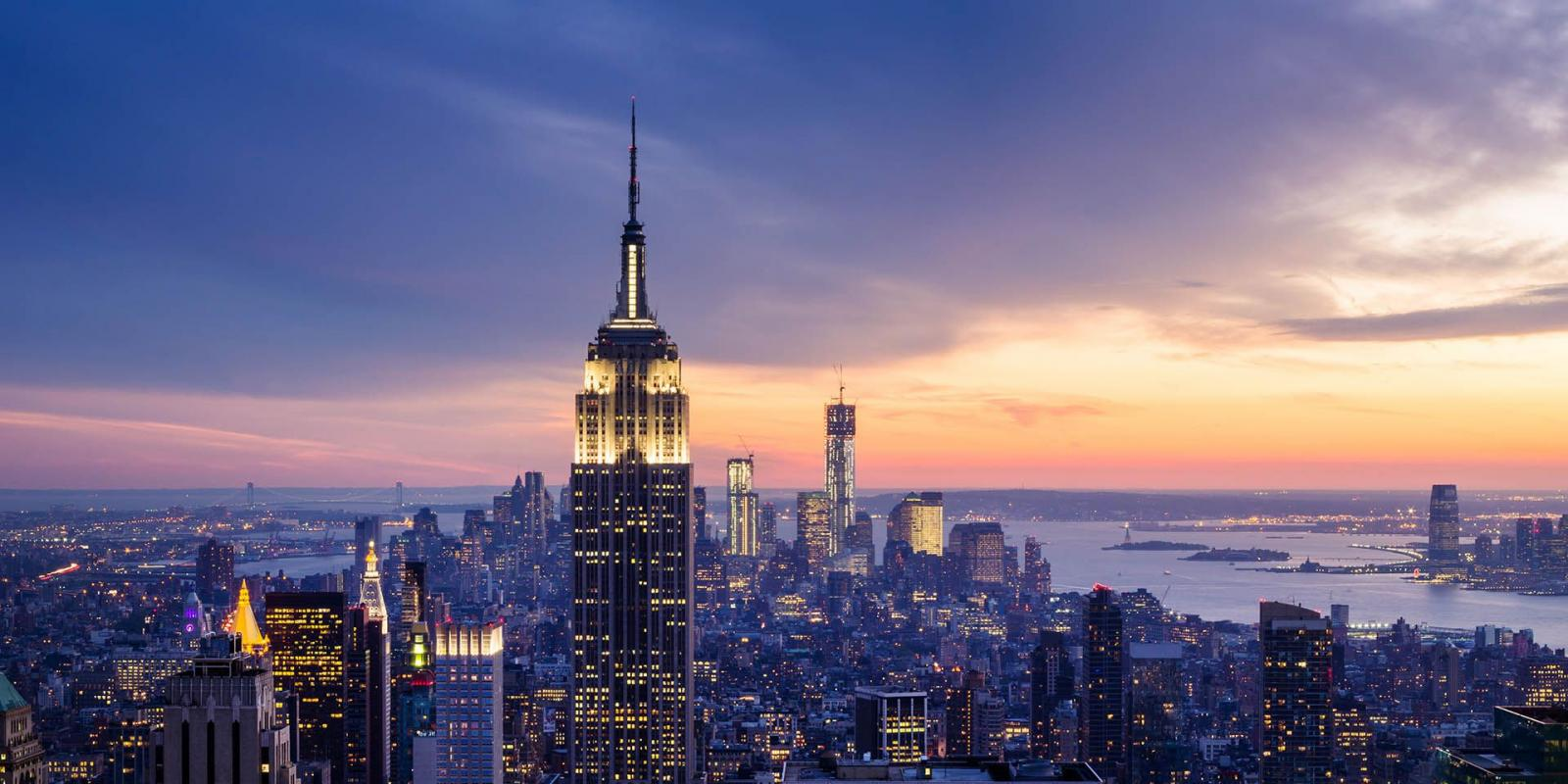 empire state building abends