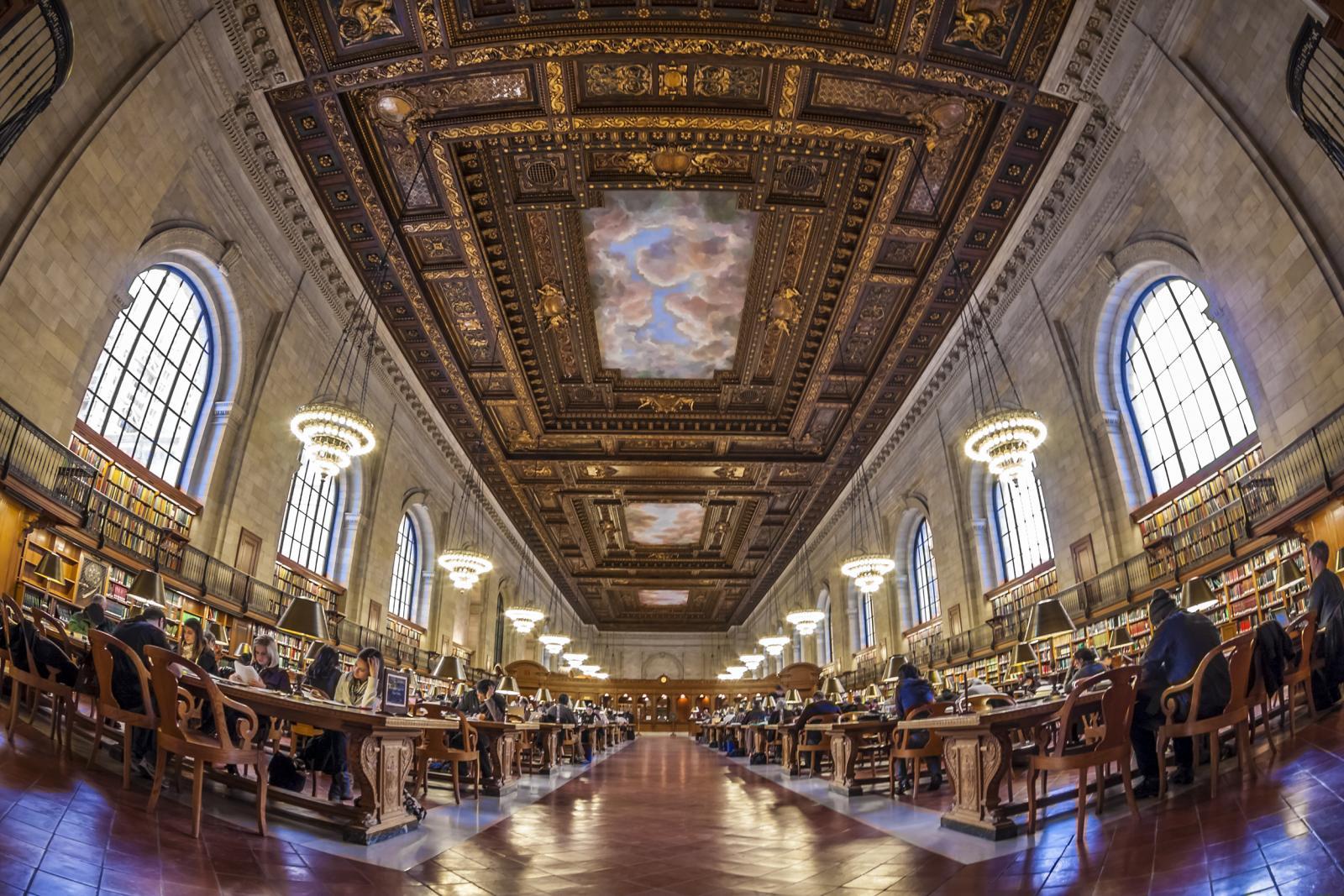 Visita la Biblioteca Pública gratis en Nueva York