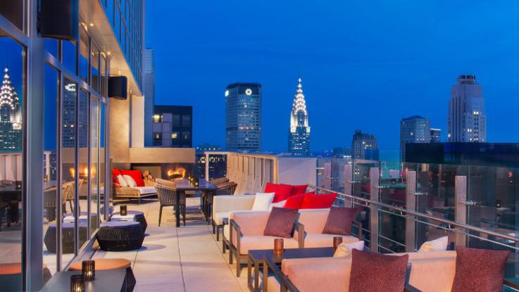 lounge bar 54 por la noche en nueva york