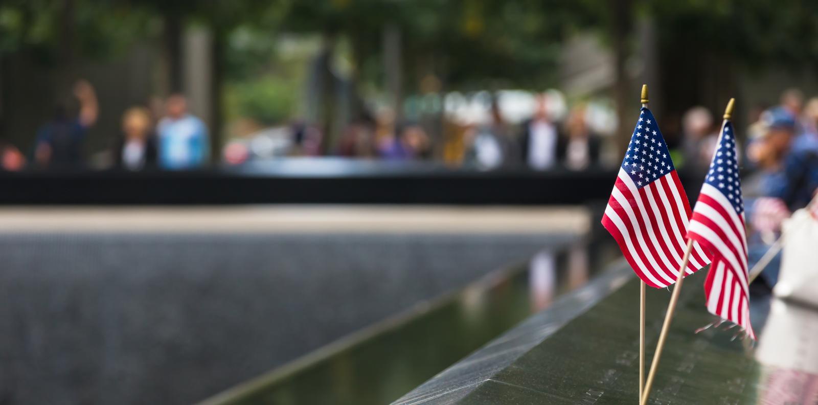 El monumento en memoria del 11-S en el One World Trade Center