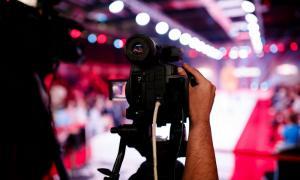 kamera bei new yorker fashion week