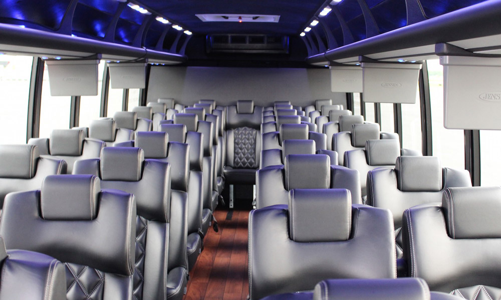 El minibus por dentro: Excursión Nueva York- Niagara