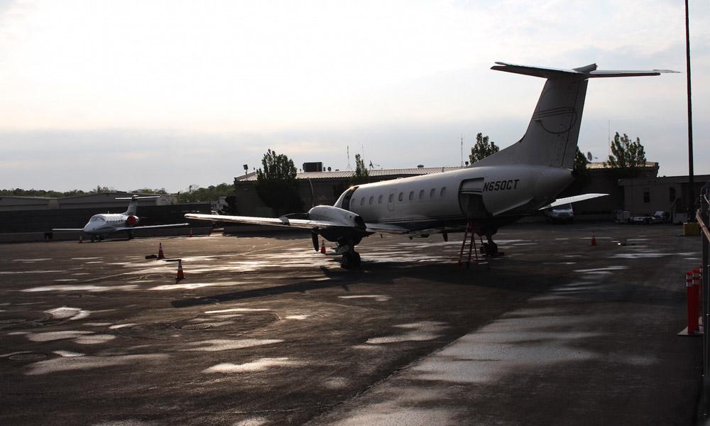 En Jet privado a Niágara