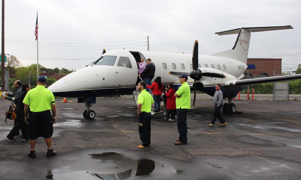 Nueva York - cataratas del niagara en avión