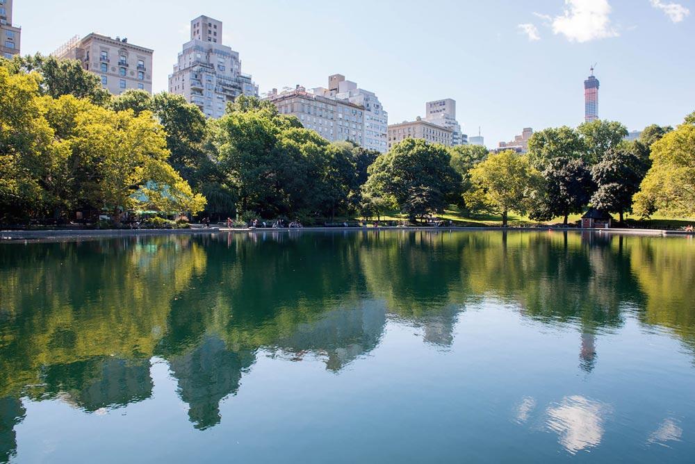 Las mejores cosas que ver en Nueva York: lago en central park