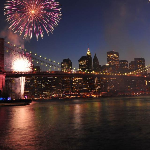 Celebrar Nochevieja en barco en Nueva York
