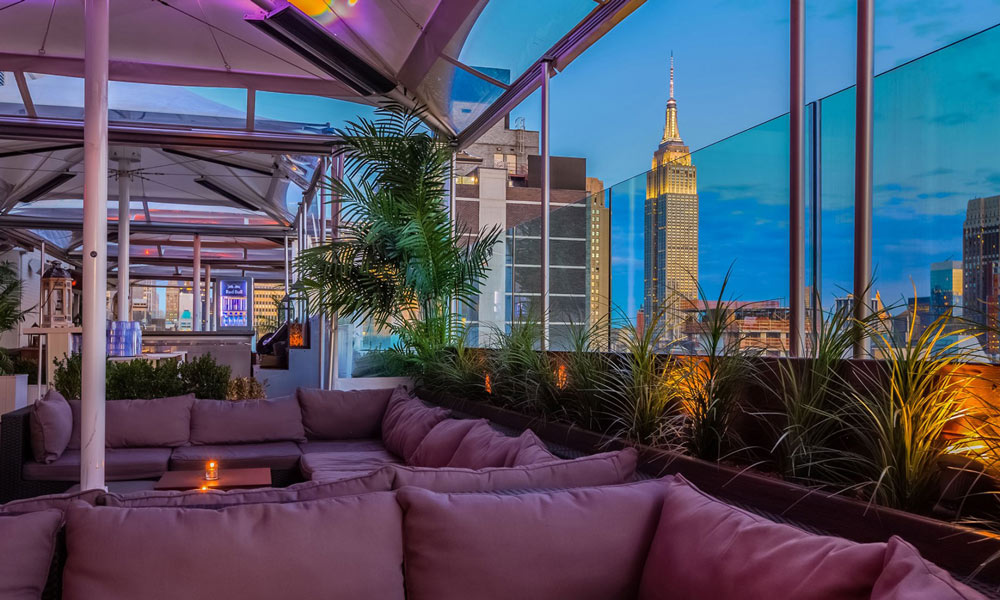 skyroom rooftop-bar in new york