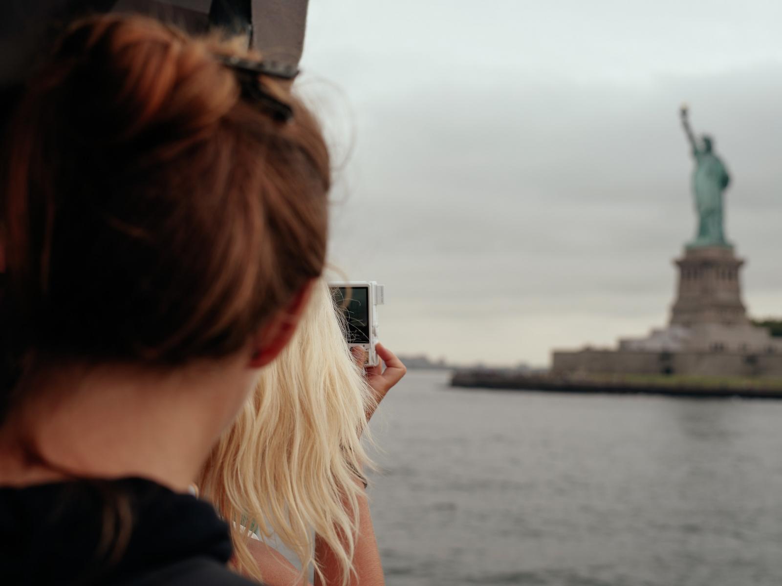 Barco a la estatua de la Libertad: Circle Line