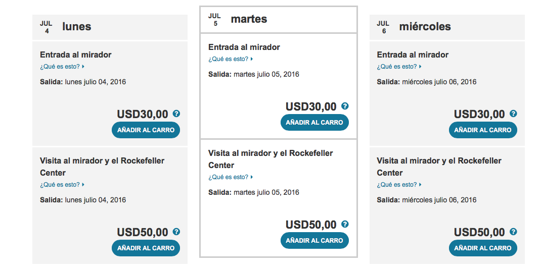 Entradas Top of The Rock: mejores Tickets