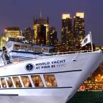 Crucero con cena en Nueva York con World Yacht