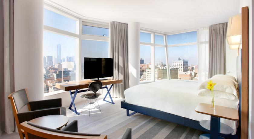 Hotel Standard East Village con vistas de Nueva York