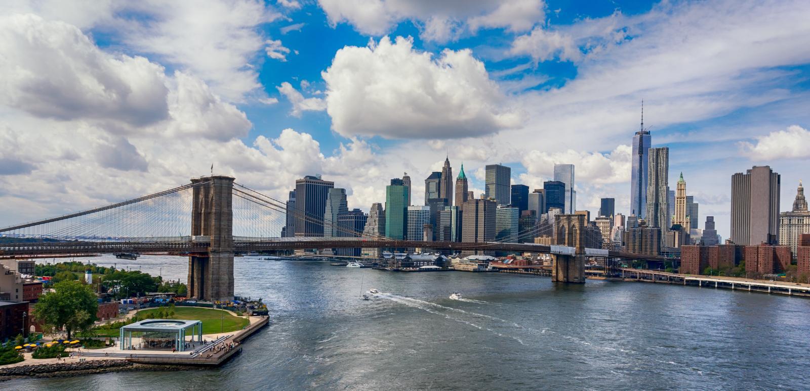 El Puente de Brooklyn de Nueva York