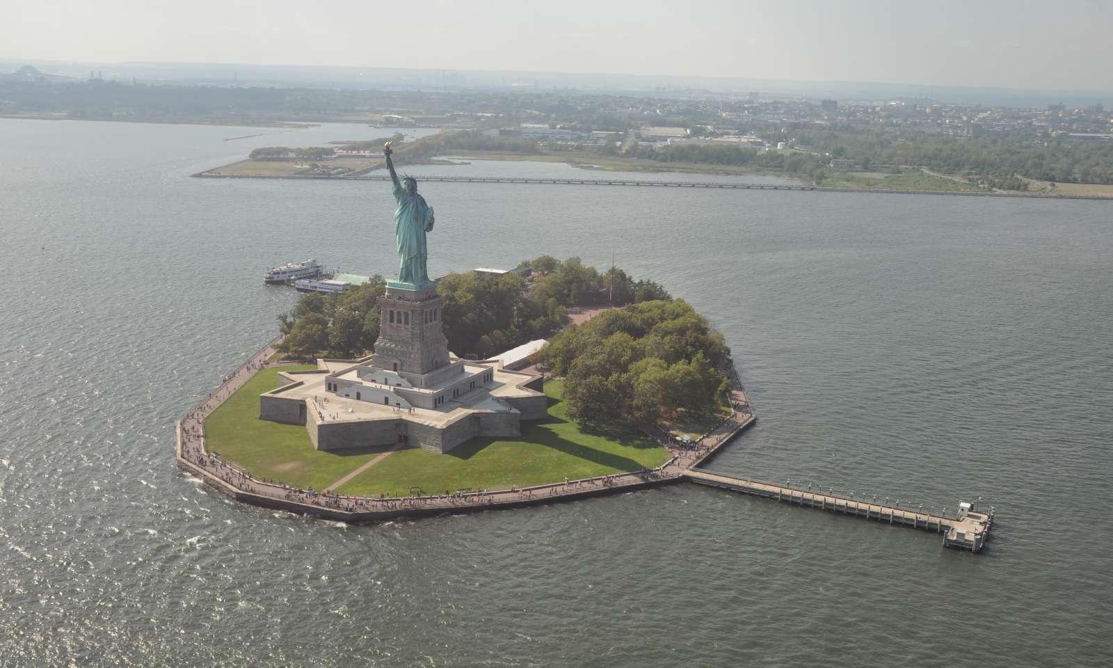 Tour en helicóptero en Nueva York: Estatua de la Libertad