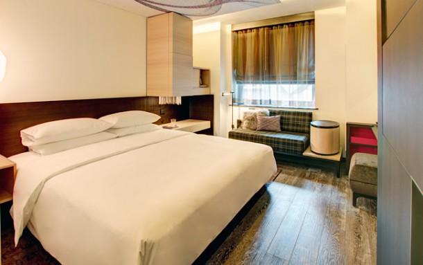 hotelzimmer im hyatt herald square new york