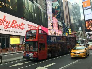 Hop on hop off: itinerarios en autobús por Nueva York