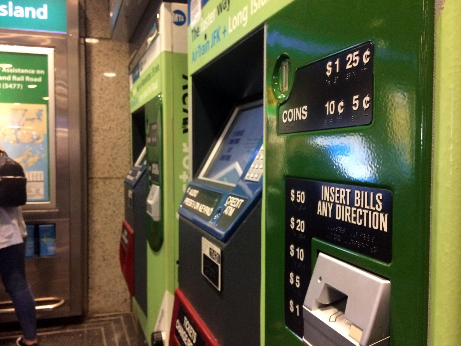 Comprar MetroCard en Nueva York