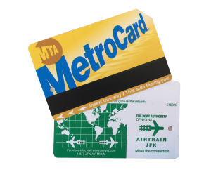 Metro Card de Nueva York y Air Train