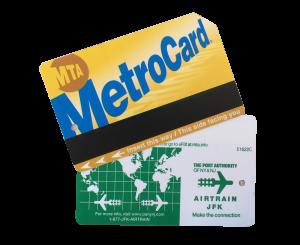 Metro Card de Nueva York y Air Train