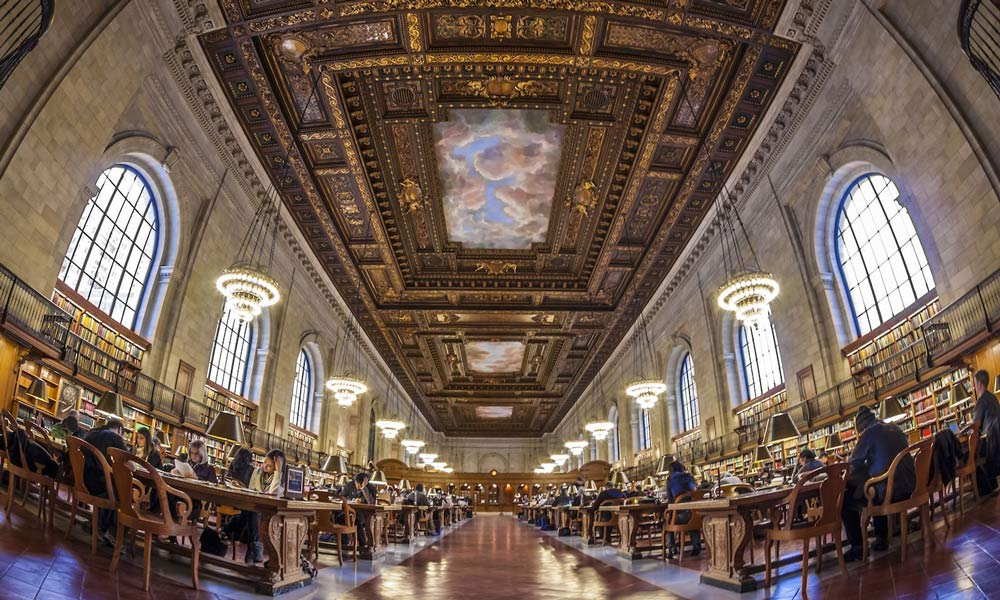 new york public library innen