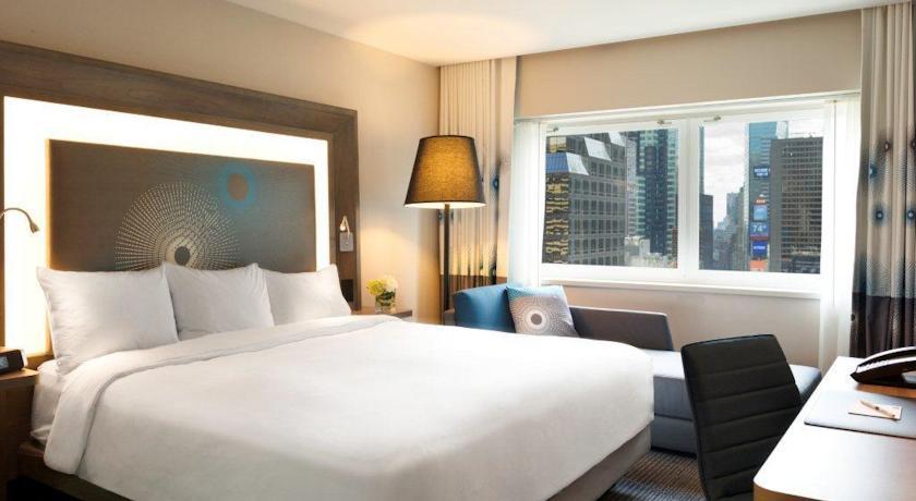 hotelzimmer im hotel novotel times square new york