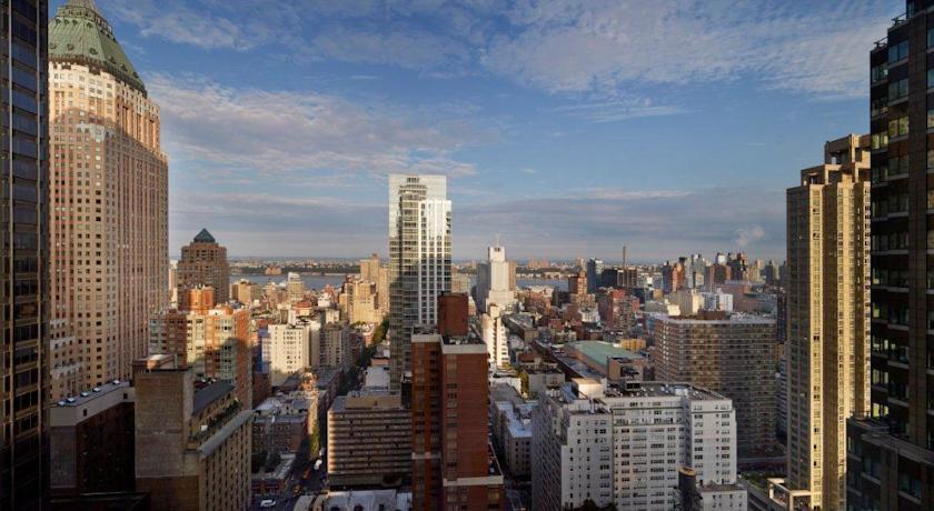 aussicht vom hotel novotel times square new york
