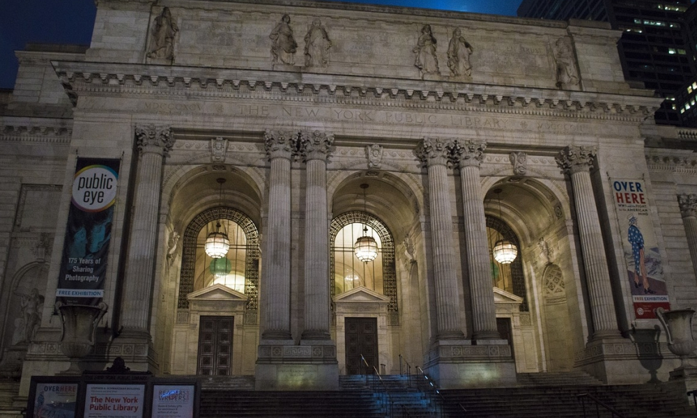 Biblioteca pública de Nueva York