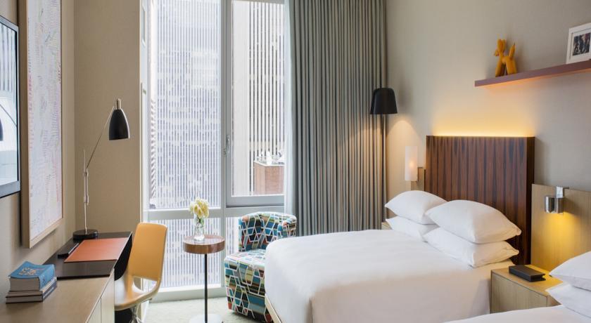 hotelzimmer im hyatt times square hotel new york