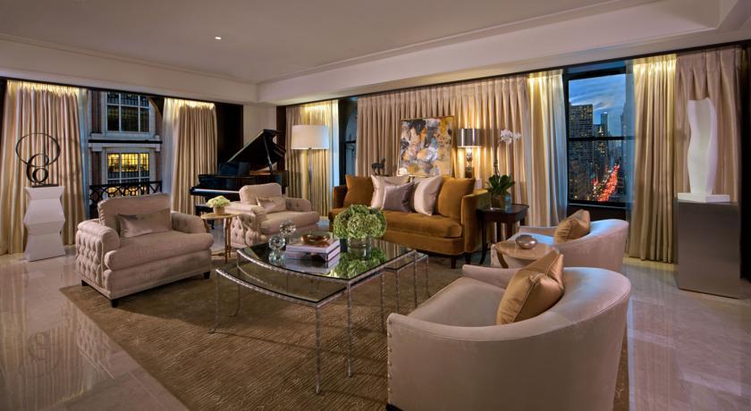 hotelzimmer im peninsula hotel new york