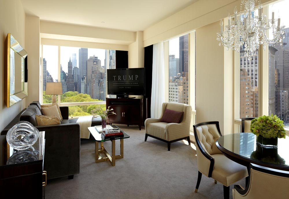 hotelzimmer im trump international hotel new york