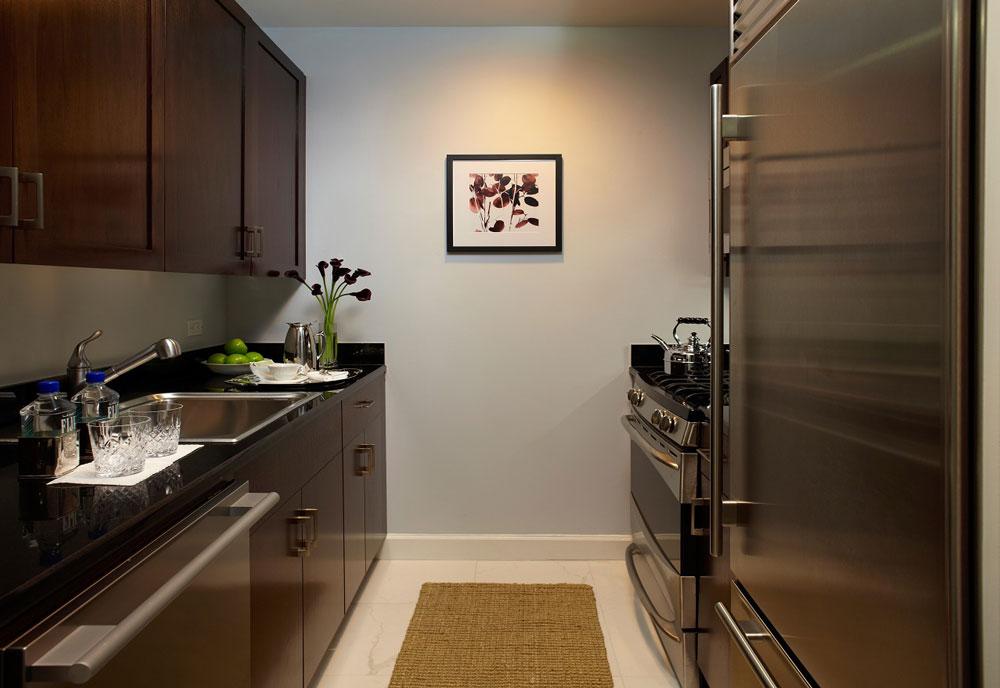 küche im hotelzimmer des trump international hotel new york