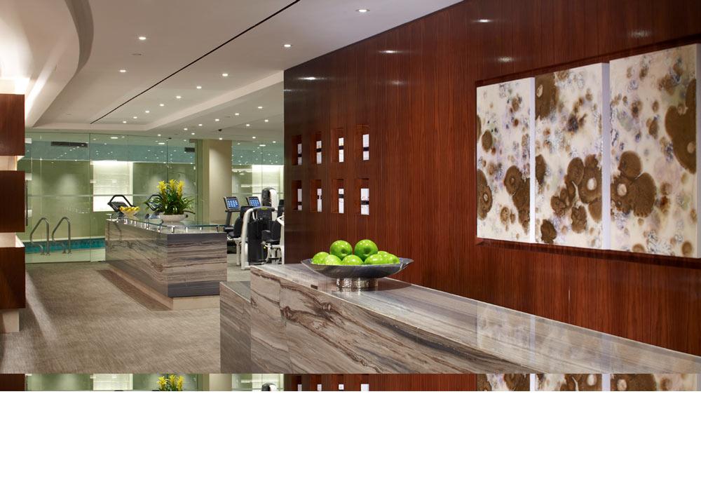 spa-bereich im trump international hotel new york