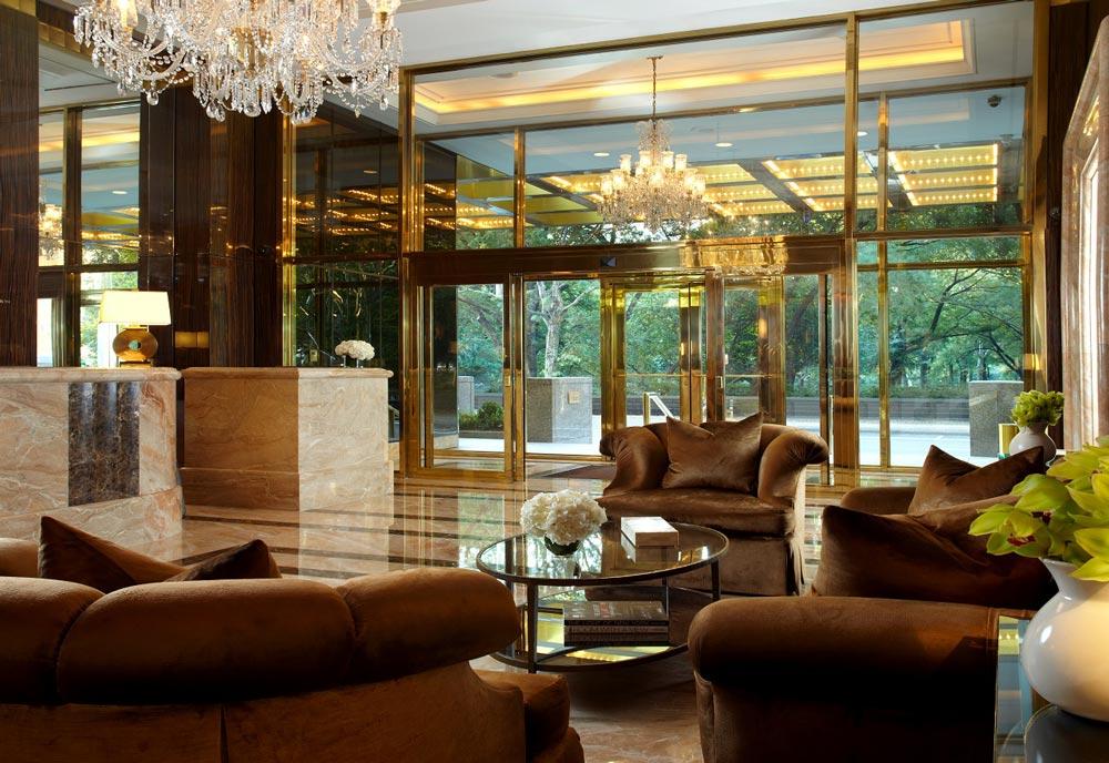 lobby im trump international hotel new york