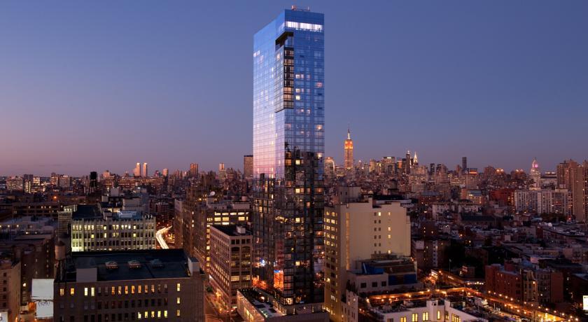 trump soho hotel new york von aussen