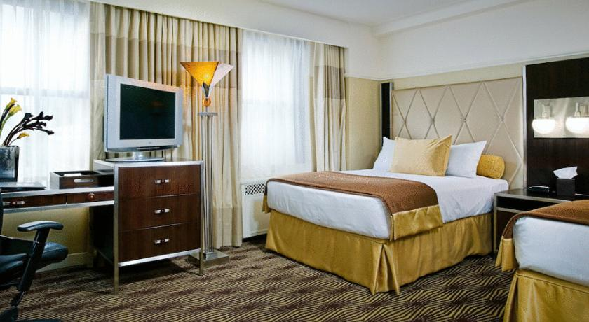hotelzimmer im wyndham the new yorker hotel
