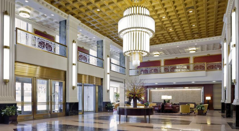 lobby im wyndham the new yorker hotel