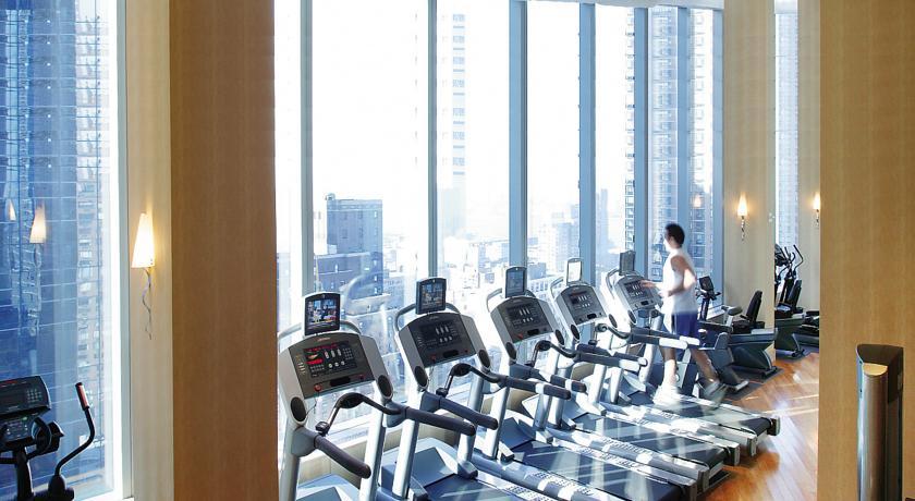 fitnessbereich im mandarin oriental hotel