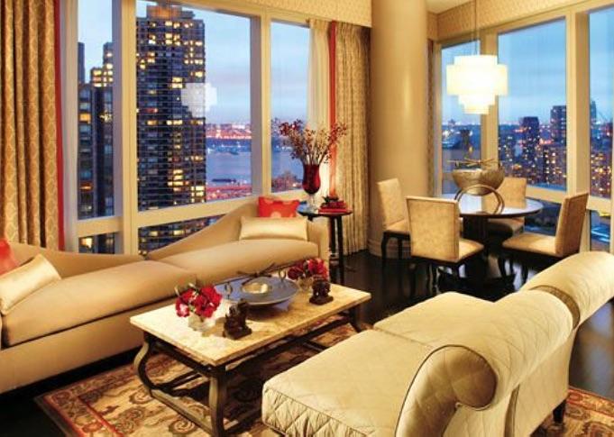 hudson river view zimmer im mandarin oriental hotel