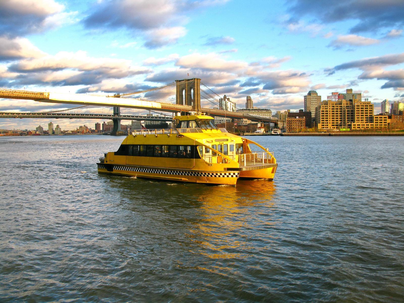El Water Taxi de Nueva York y el Puente de Brooklyn: Nueva York en 7 días