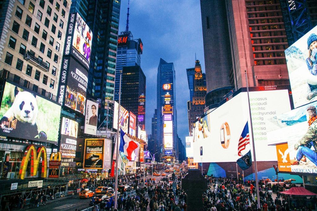 Curiosidades Nueva York: Times Square