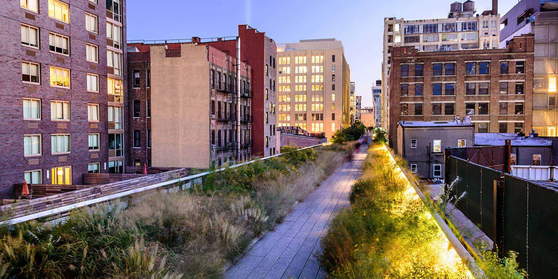 high line park nueva york la v a verde de manhattan. Black Bedroom Furniture Sets. Home Design Ideas