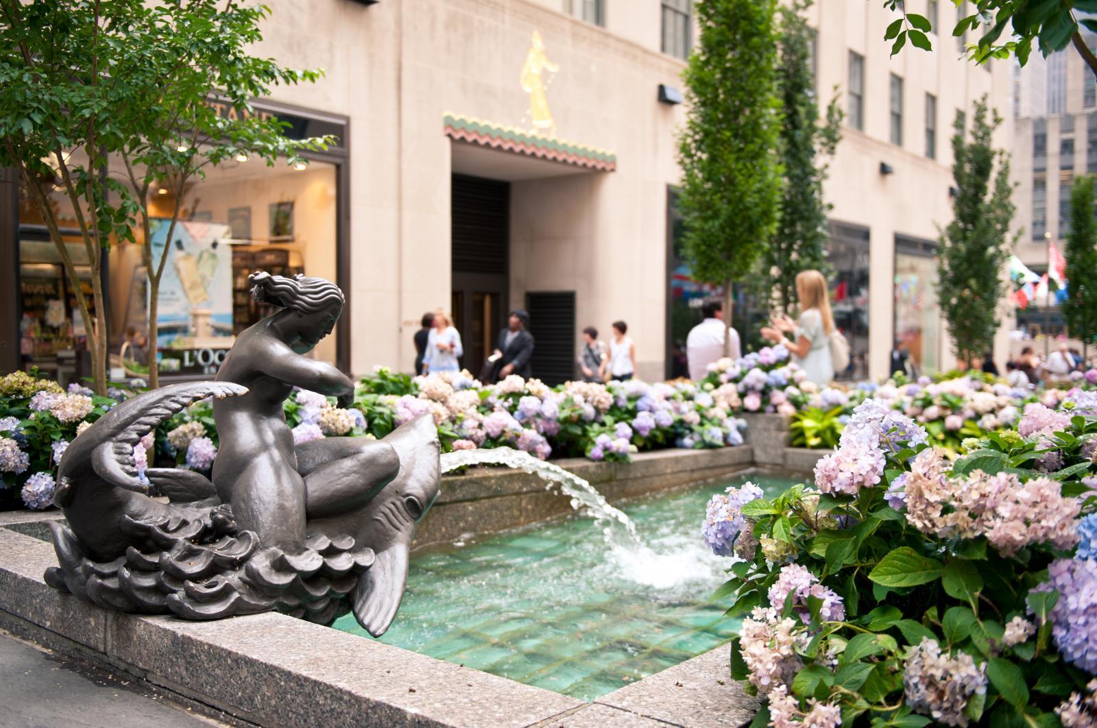 Fuente del Rockefeller Center de Nueva York
