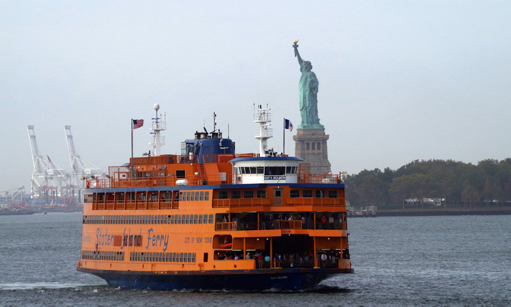 Park At Staten Island Ferry